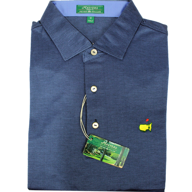 Masters Peter Millar Clubhouse Crow's Nest Performance Tech Golf Shirt