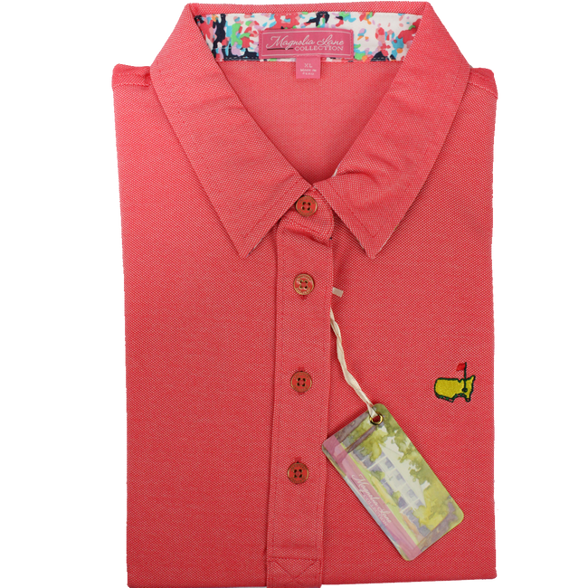 Ladies Masters Magnolia Lane Performance Polo - Camelia