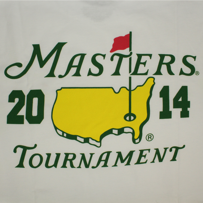 2014 Dated Masters White Small Logo T-Shirt