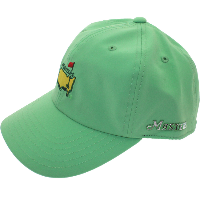 Masters Light Green Tech Performance Hat