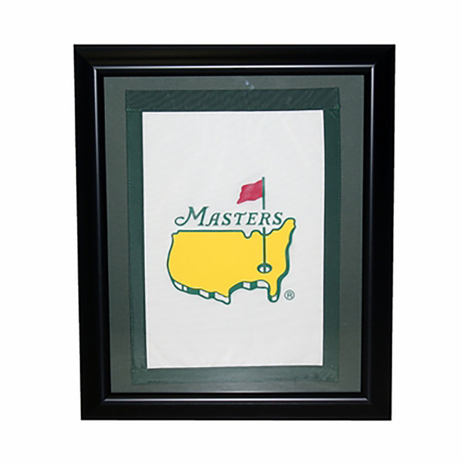 Masters Undated Garden Flag- Framed