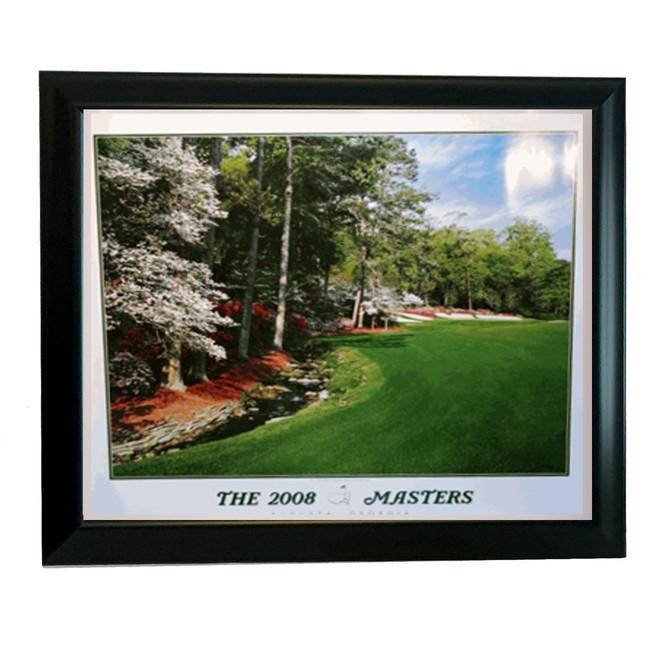 2008 Framed Masters Poster