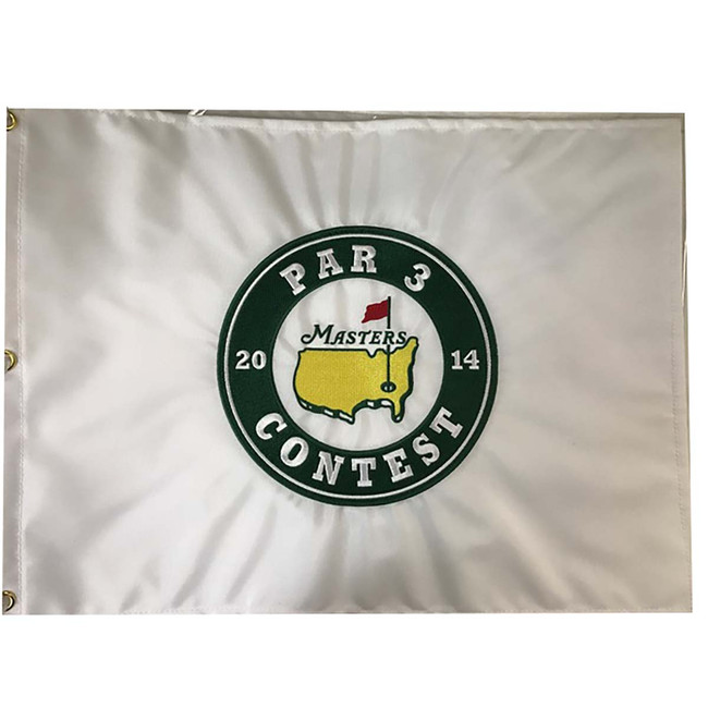 Masters 2014 Par 3 Contest Pin Flag