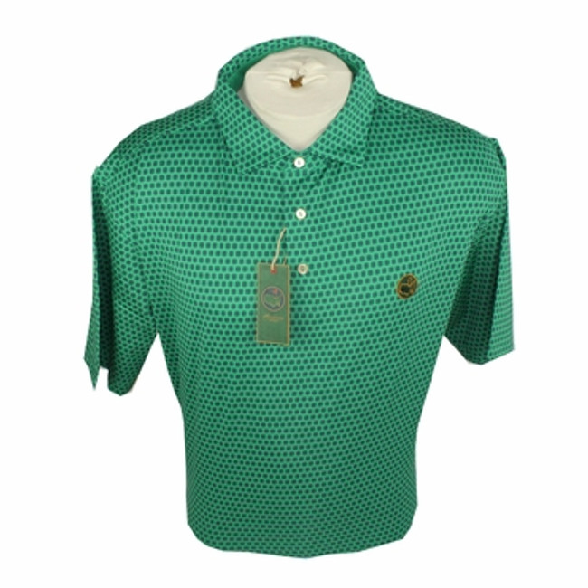 Berckmans Masters Polo Green/Navy Dot