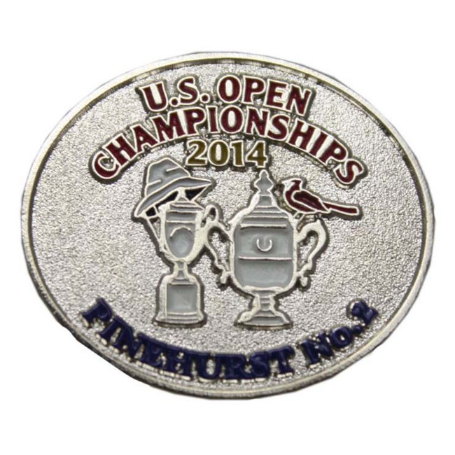 2014 US Open Championship Lapel Pin- Silver