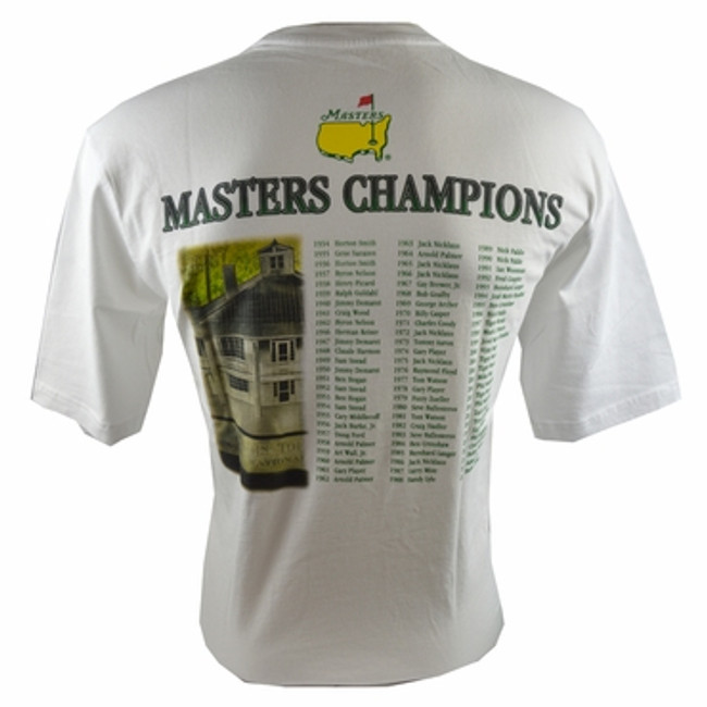 2015 Masters Champions White Youth T-Shirt