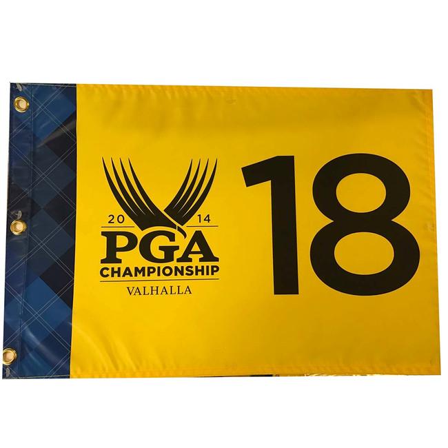 2014 PGA Championship Pin Flag- Valhalla*Rory McIlroy Champ