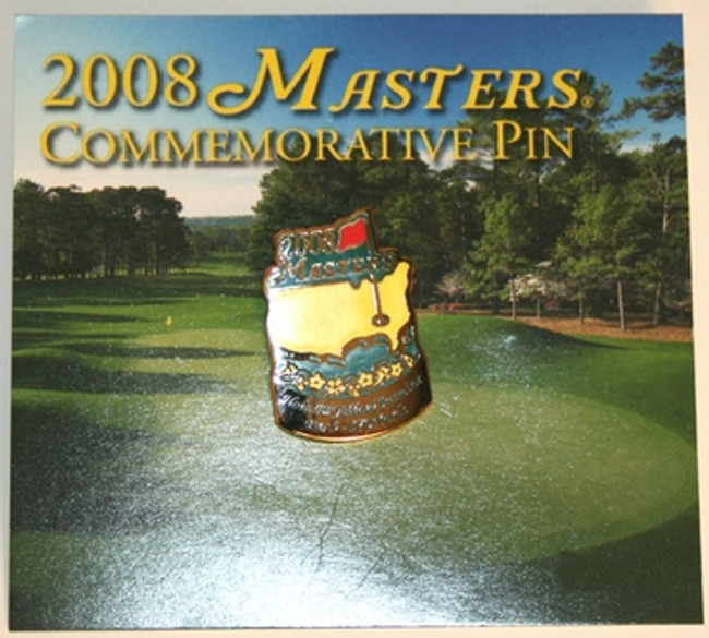 2008 Masters Commemorative Pin
