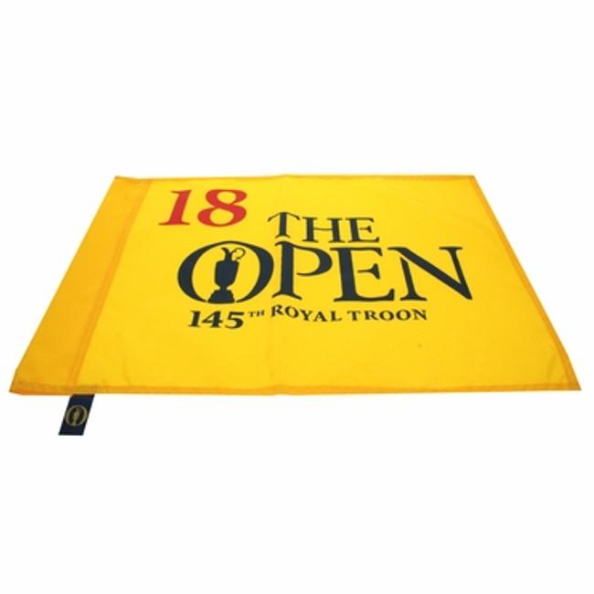 145th British Open Pin Flag