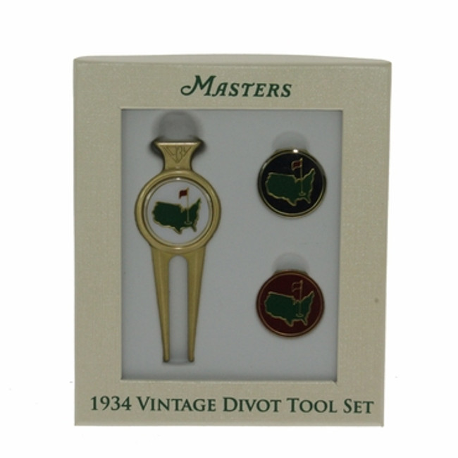 1934 Vintage Masters Divot Tool - Two Ball Markers