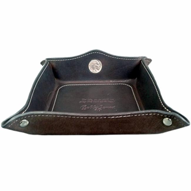 Bobby Jones Leather Nickel Coin Tray