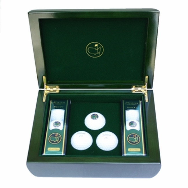 Masters 2016 Commemorative Box & Golf Balls