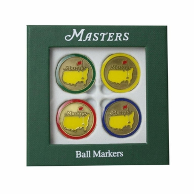 Masters Ballmarkers 4Pack Variety