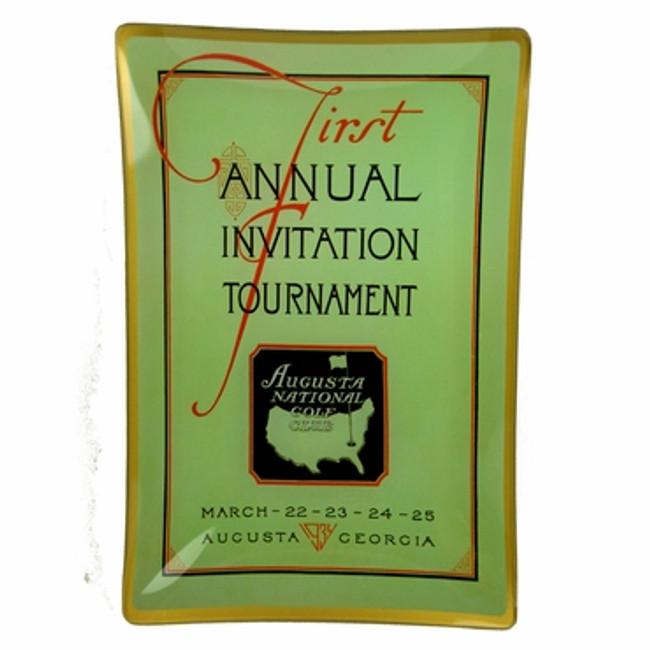 Masters Tray - 1934 Program