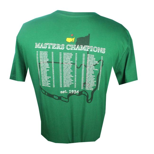 2016 Masters Champions T-Shirt- Green