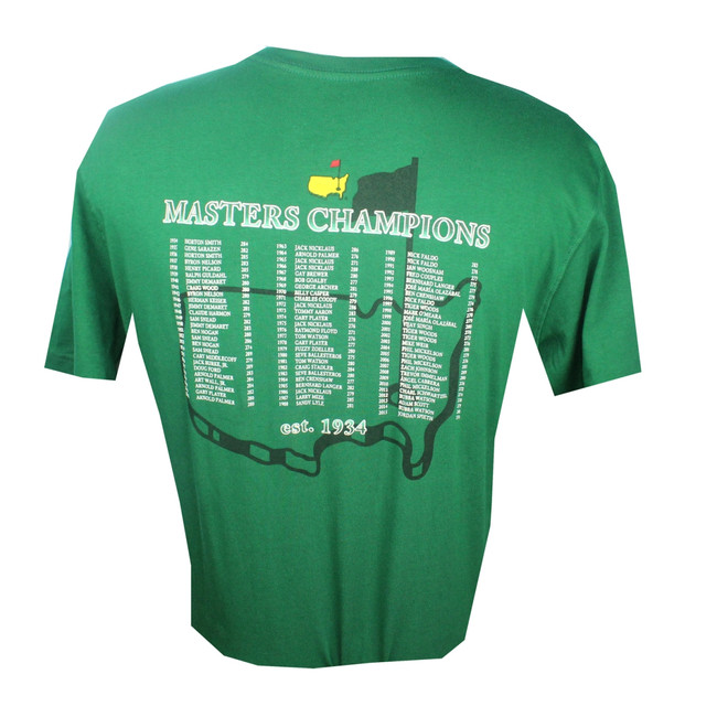 2016 Masters Champs Green T-Shirt (SM, MD Only)