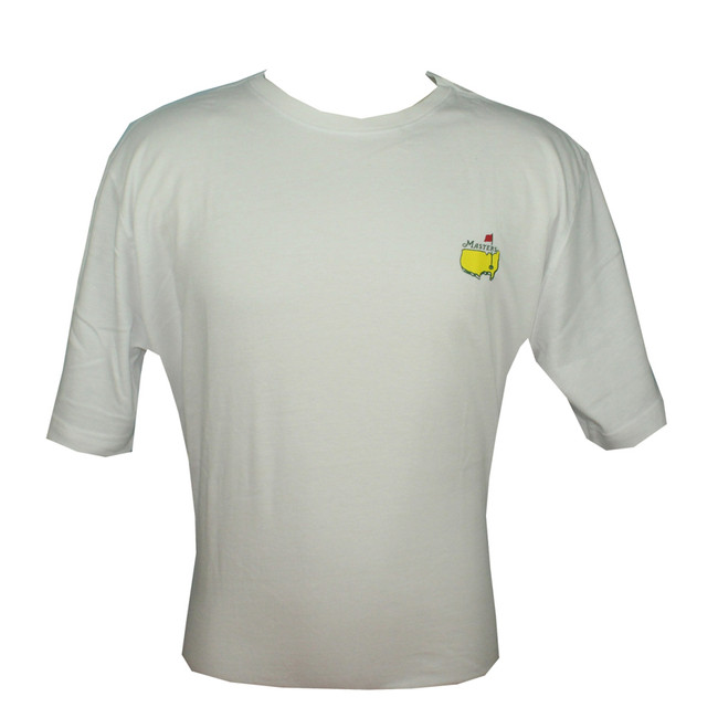 2016 Masters White Small Logo T-shirt