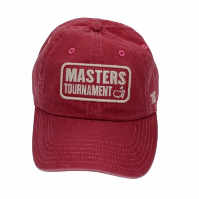 Masters 2016 Vintage Red Caddy Hat