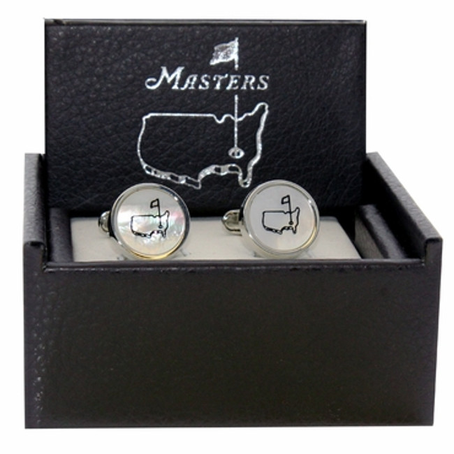 Masters Cuff Links - Mother of Pearl