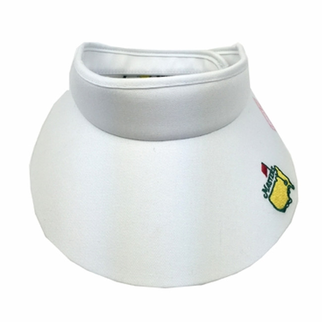 Masters Ladies Large Rim Visor - White