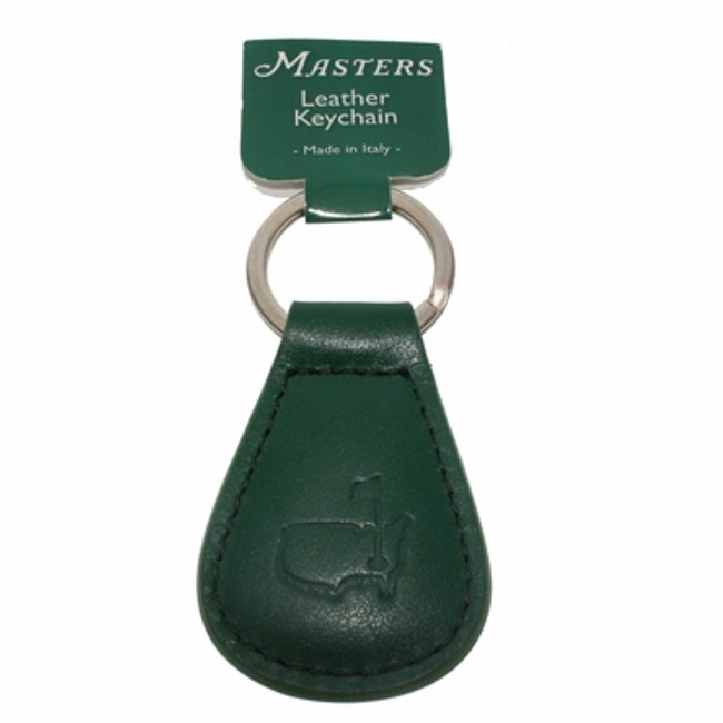 Masters Leather Key Chain - Green