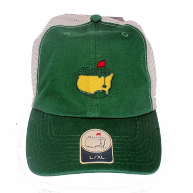Masters Green Fitted Trucker Hat