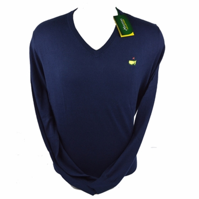 Masters Long Sleeve Sweater - Navy
