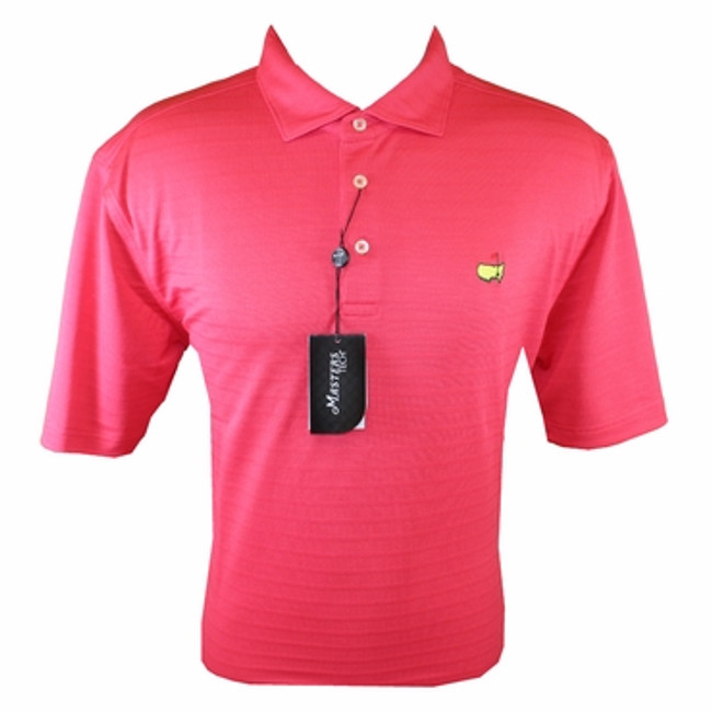 Masters Performance Golf Shirt - Pink