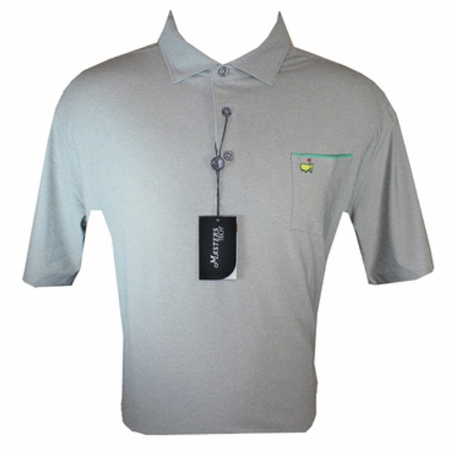 Masters Performance Gray Shirt  With Pocket