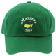 2017 Dated Masters Green Caddy Hat - Caddy Cap