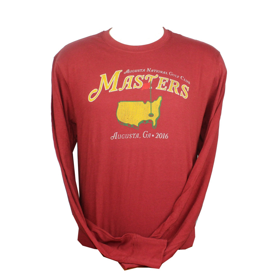 Masters Vintage Red Long Sleeve T-Shirt 2016