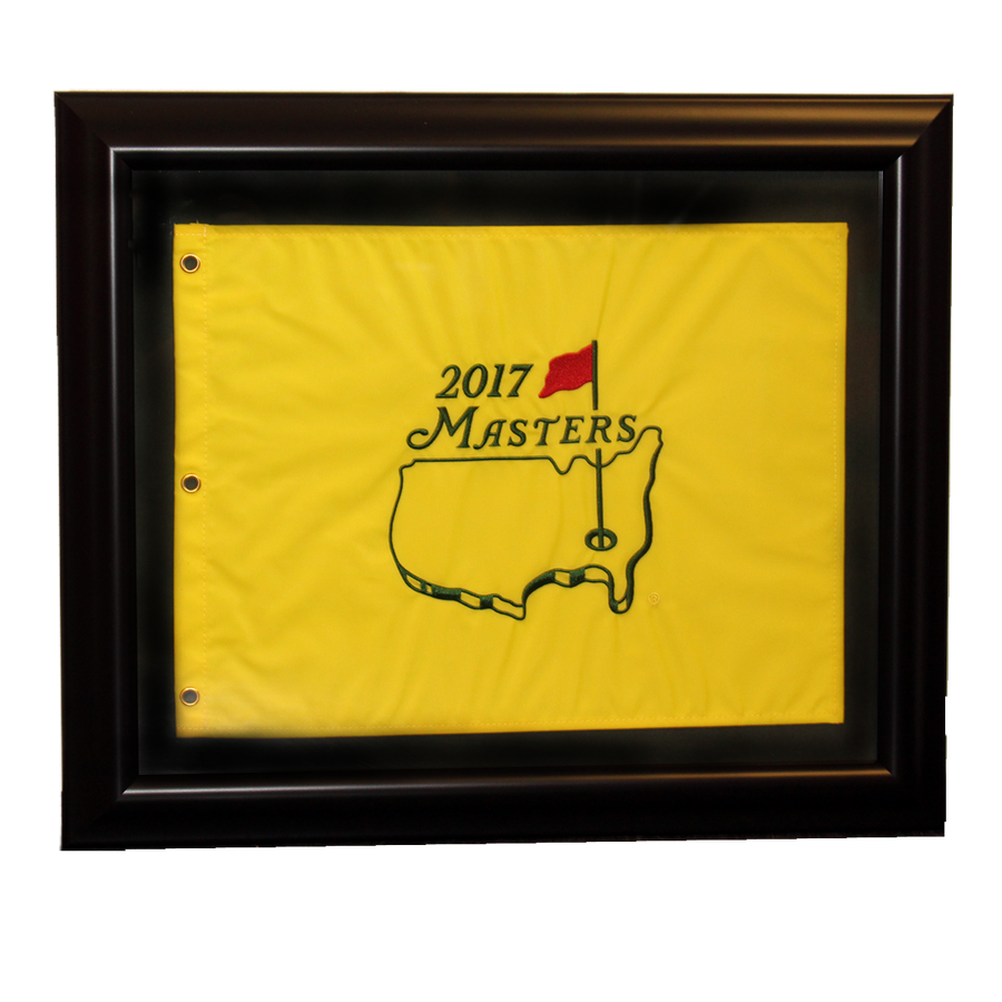 2017 Masters Pin Flag - Framed