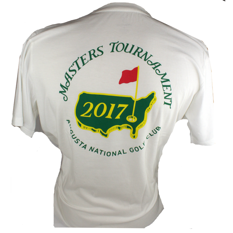 2017 Masters White Small Logo T-shirt