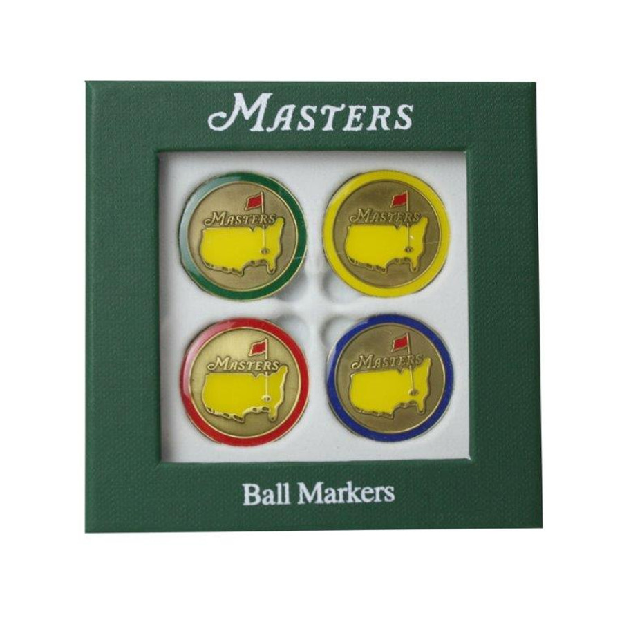 2014 Masters Ball Markers 4 Pack Variety