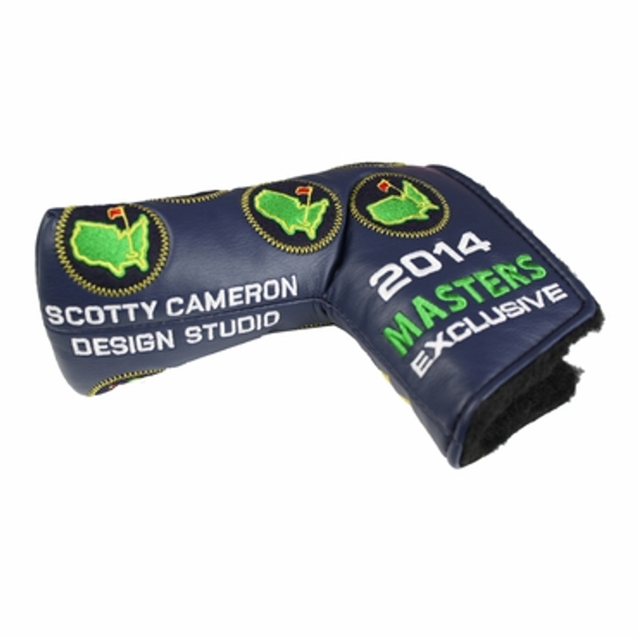 Masters 2014 Scotty Cameron Putter Cover Navy Leather