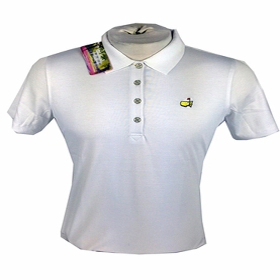 Masters Ladies Golf Shirt - White