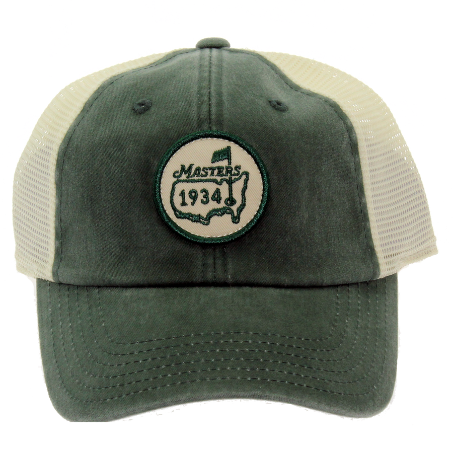 Masters 1934 Retro Green Trucker Hat - NEW
