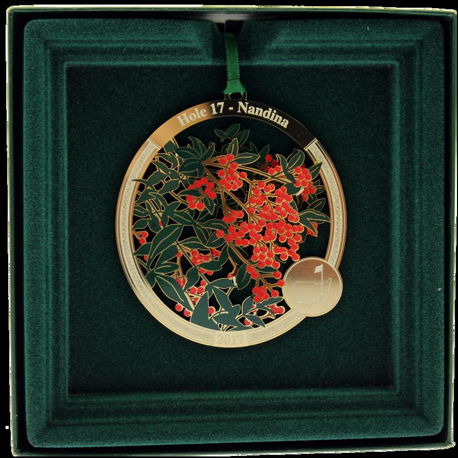 Masters Holiday Ornament - Hole 17 Nandina
