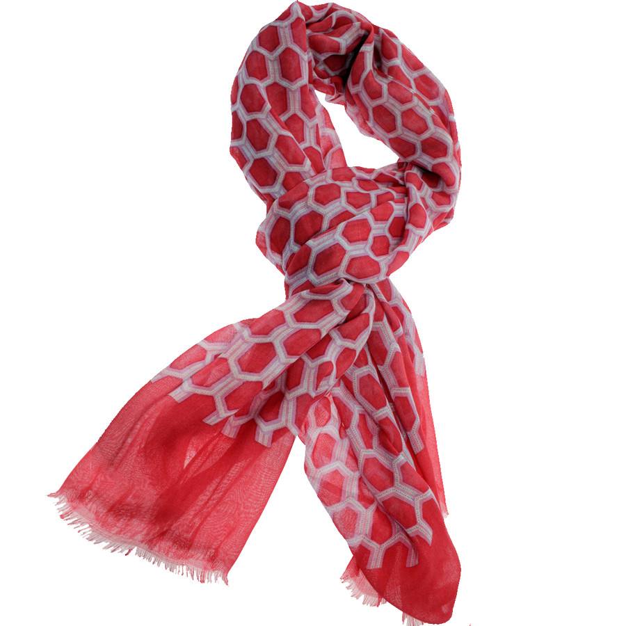 Masters Camelia Print Scarf