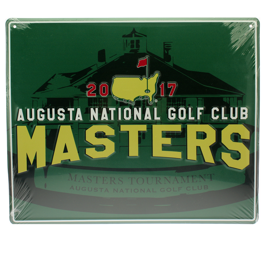 2017 Masters 11x14 Metal Wall Sign
