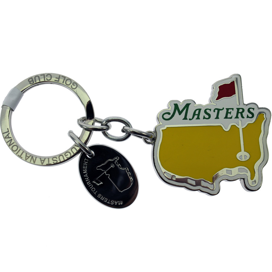 Masters Cut Logo Key Chain