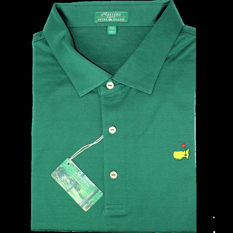Masters Peter Millar Jersey Augusta Pine Golf Shirt