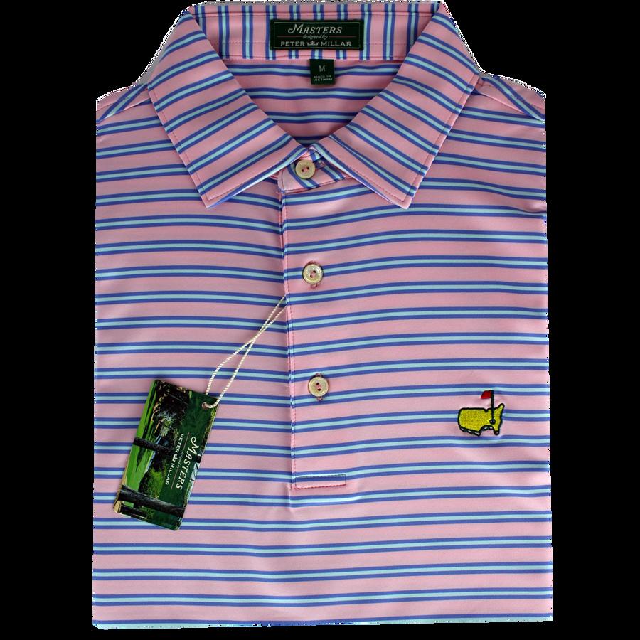 Masters Peter Millar Crabapple Performance Tech Golf Shirt (M Only)