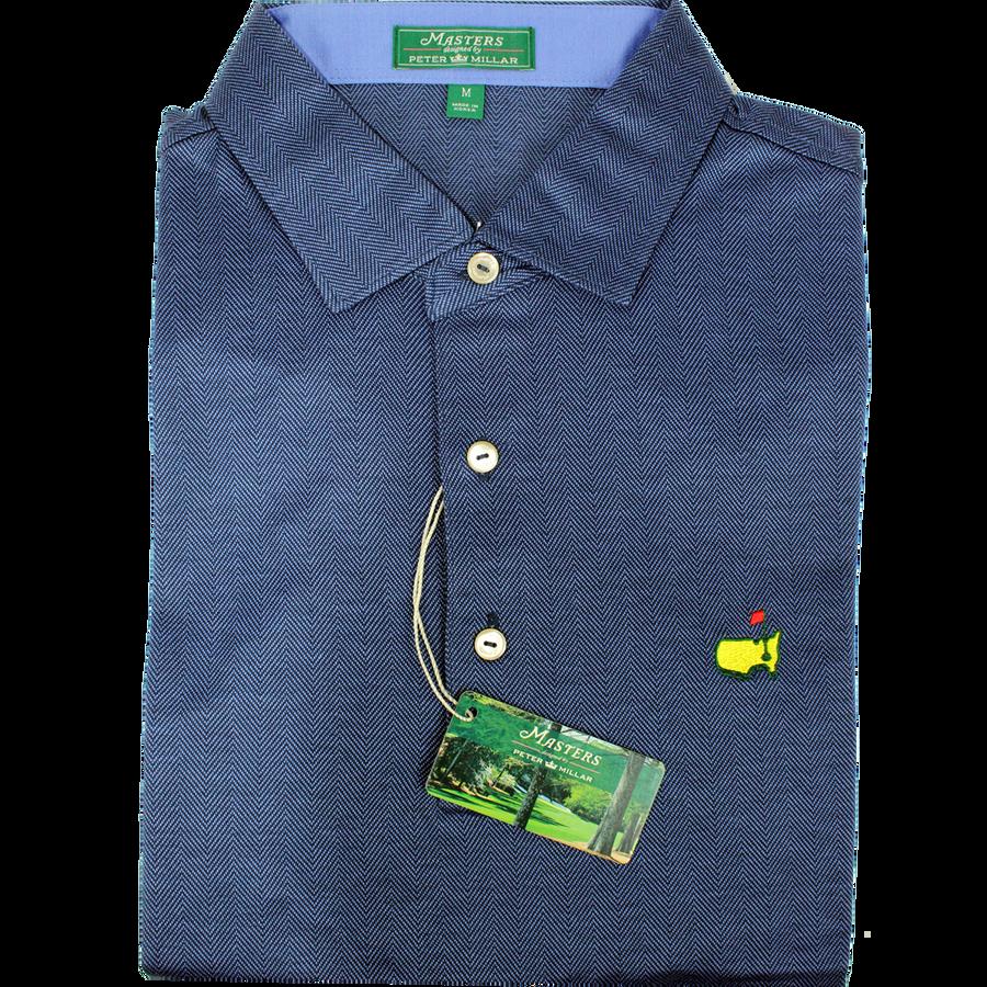 Masters Peter Millar Clubhouse Crow's Nest Performance Tech Golf Shirt
