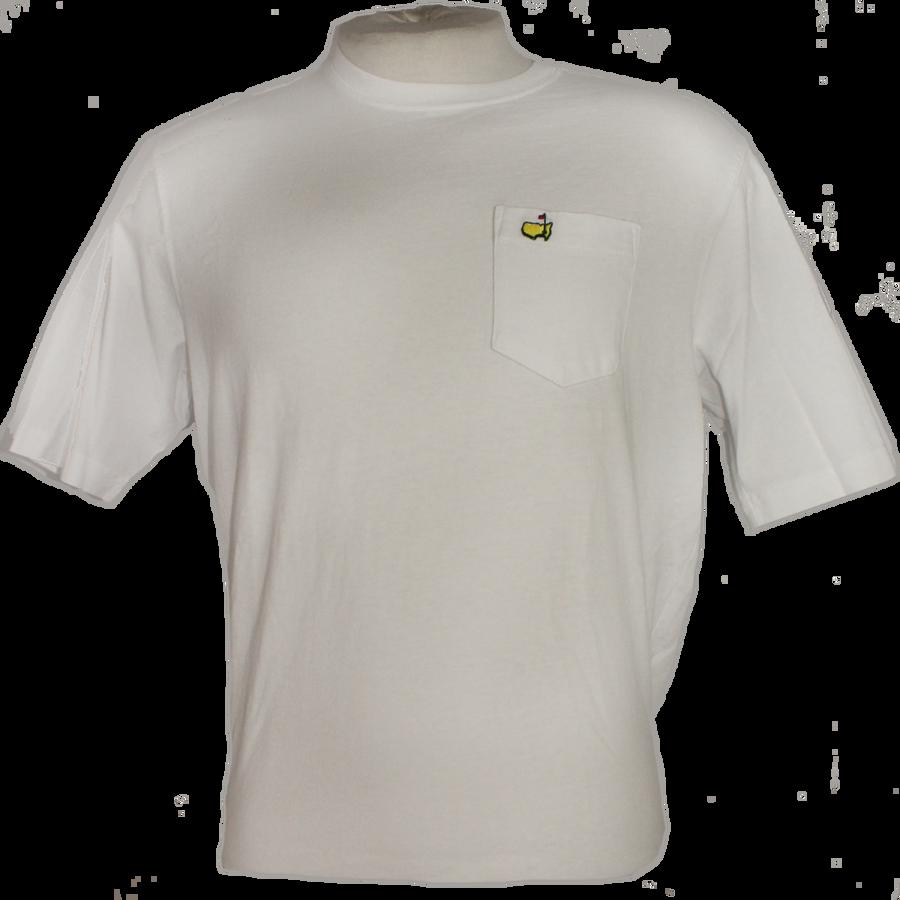 Masters Undated White Pocket T-Shirt