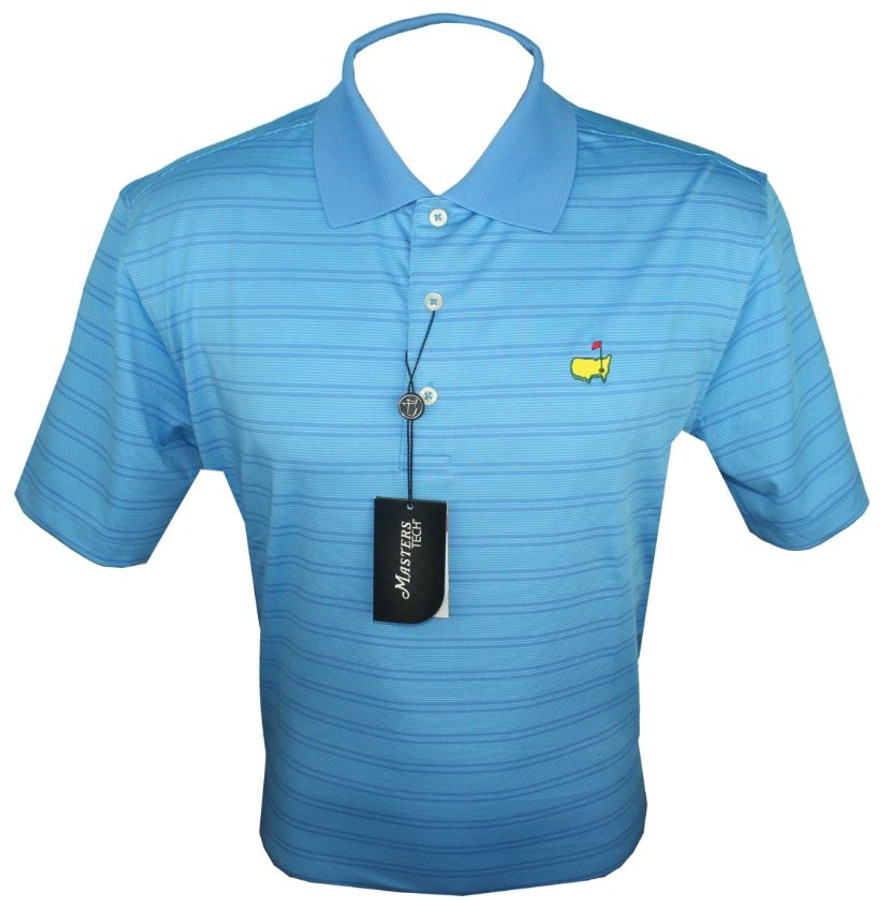 Masters Regatta Blue Performance Tech Golf Shirt