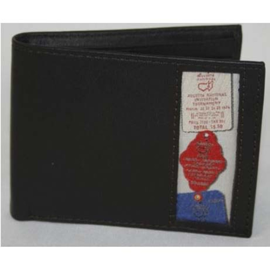 Masters Leather Wallet - Badge Inlay Slimfold
