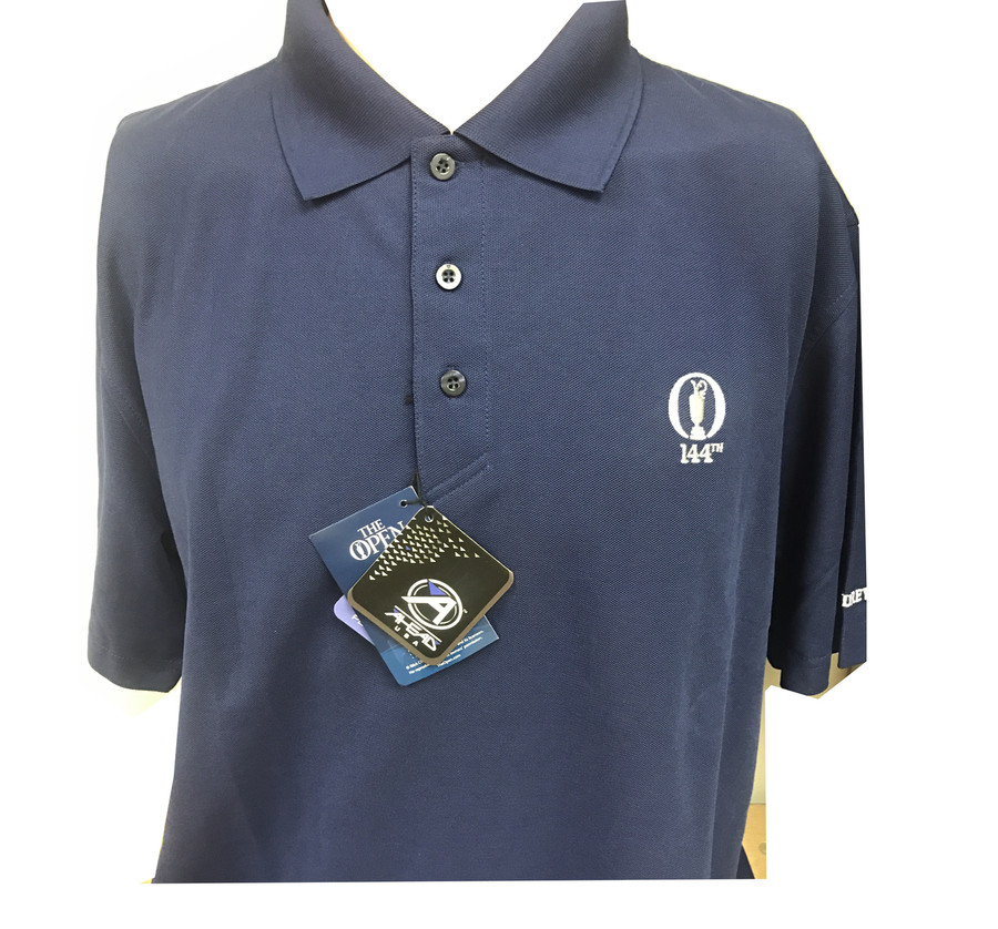 2015 British Open Navy Polo Size Large