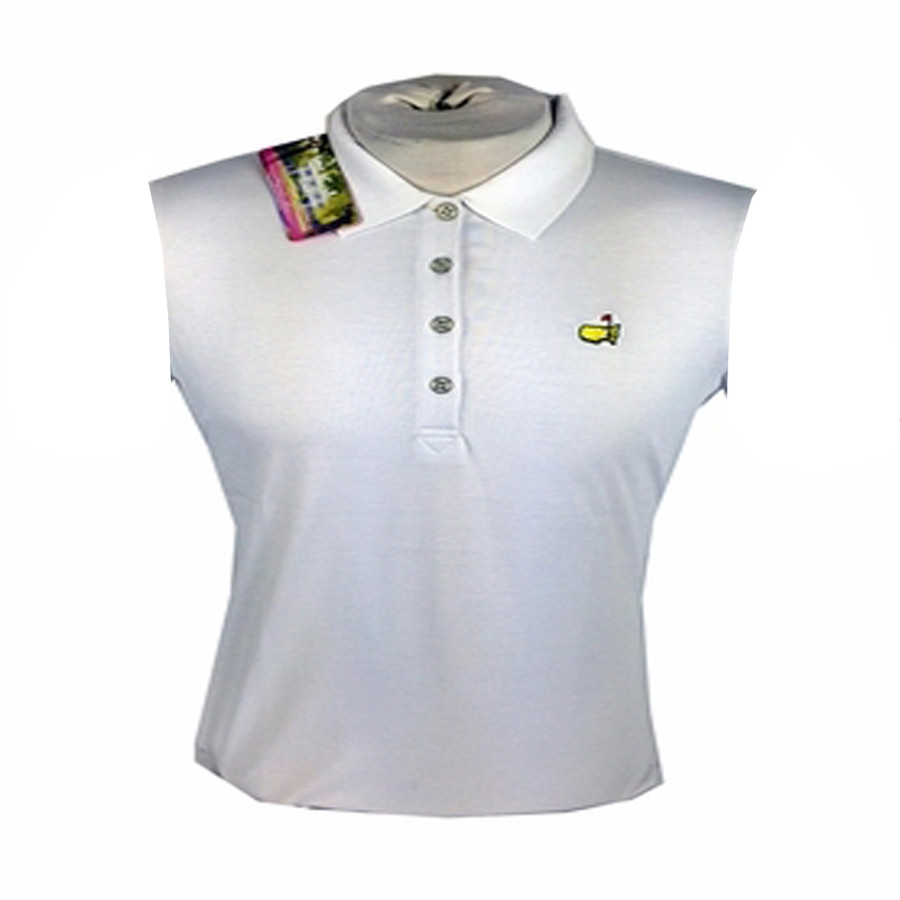 Masters Ladies Sleeveless Polo - White * XS  & Sm Only