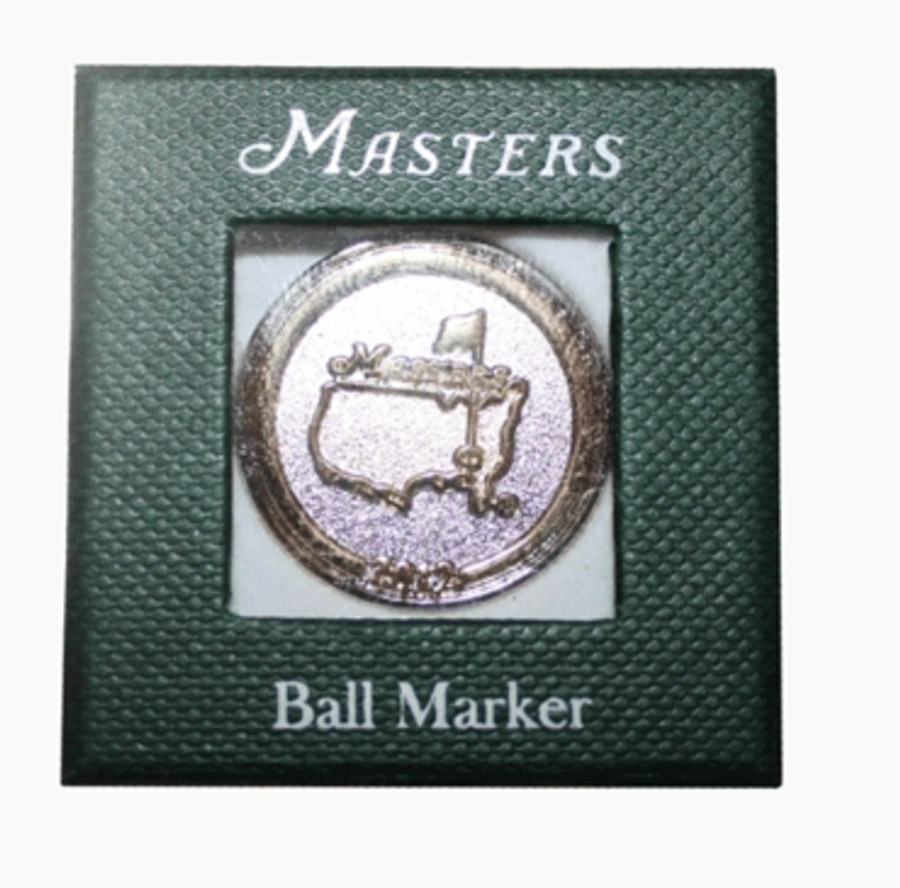 2012 Masters Ball Marker